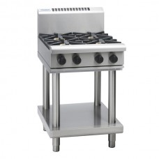 4 BURNER GAS COOKTOP WITH LEG STAND