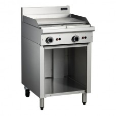 600mm GAS GRIDDLE WITH CABINET BASE