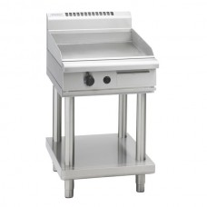 600mm GAS GRIDDLE WITH LEG STAND