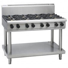 8 BURNER GAS COOKTOP WITH LEG STAND